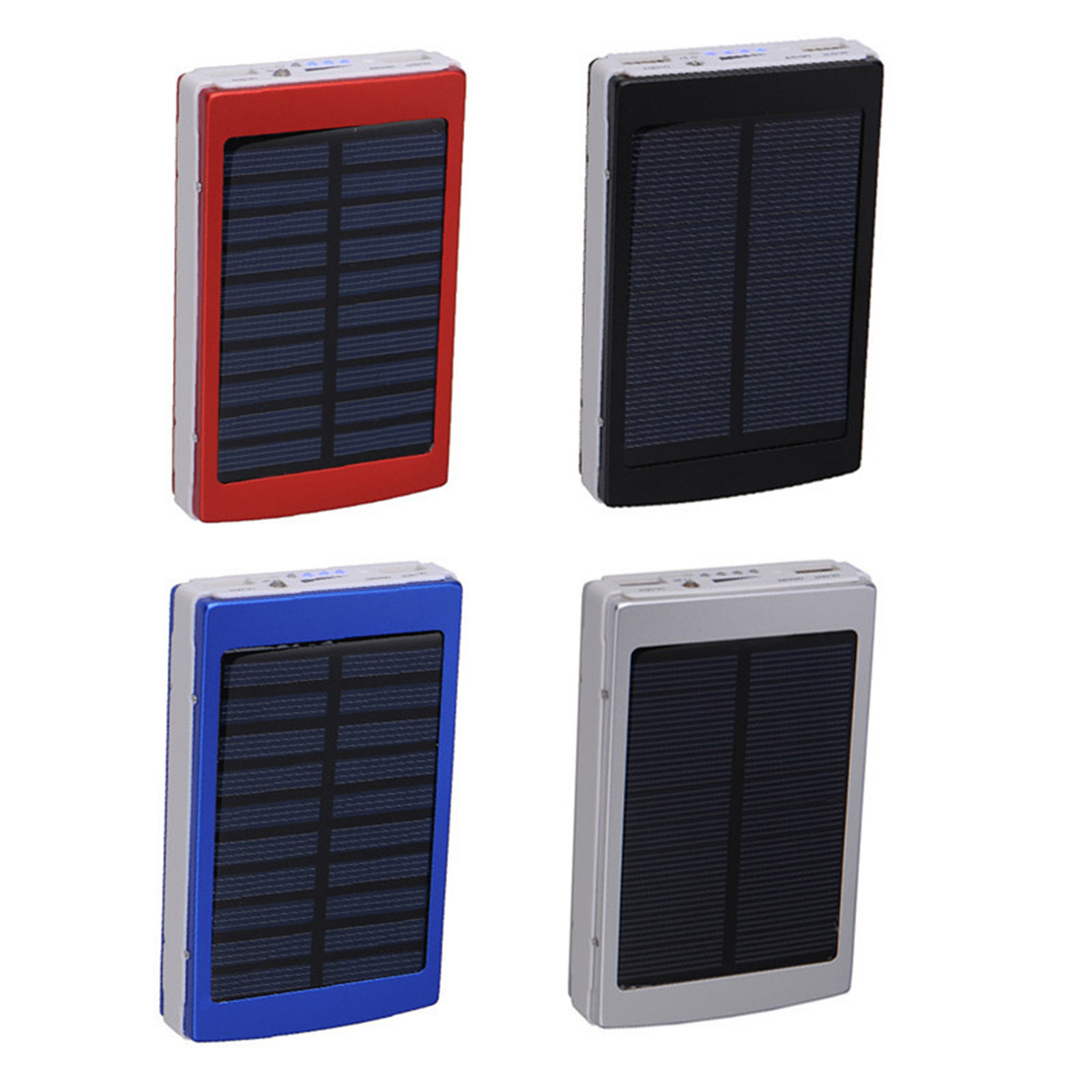 10000 mah solar zusatz akku pack power bank ladeger t. Black Bedroom Furniture Sets. Home Design Ideas